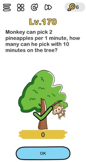 kunci jawaban brain out level 170