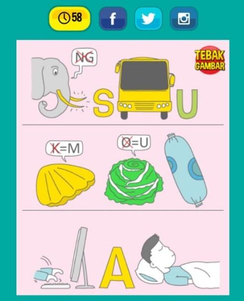 Jawaban Tebak Gambar Level 11 Nomor 1 Sampai 20