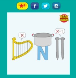 Kunci Jawaban Tebak Gambar Level 21 Terlengkap Gambar 1 20
