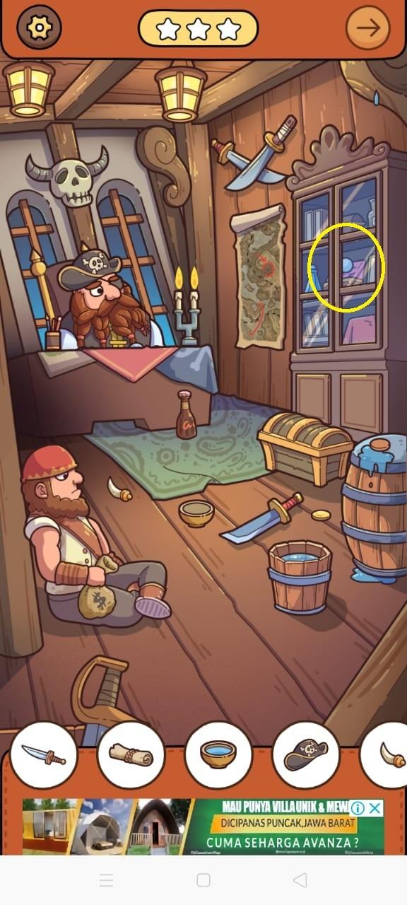 kunci jawaban find out kapal bajak laut