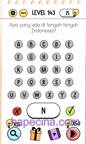 jawaban brain test level 143