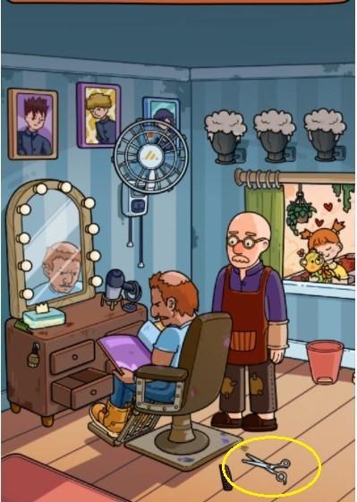 Jawaban Find Out Toko Barber